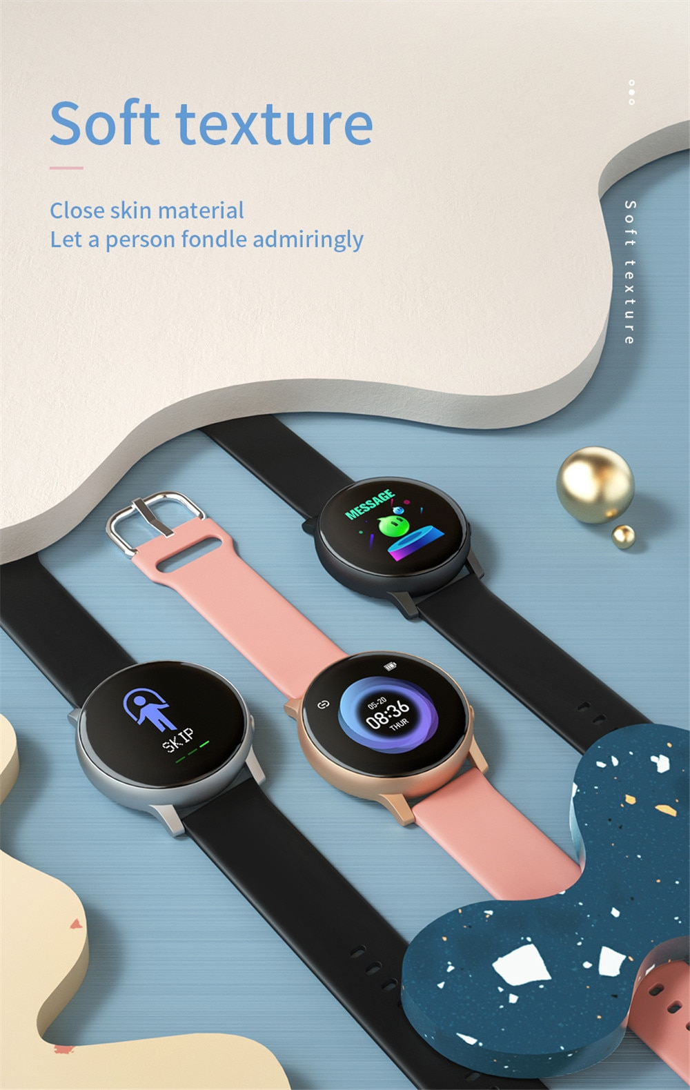 2020 Smart Watch Men Blood Pressure Heart Rate Sport Fitness Tracker Watch Smartwatch Ip67 Waterproof Smart Watches For Women