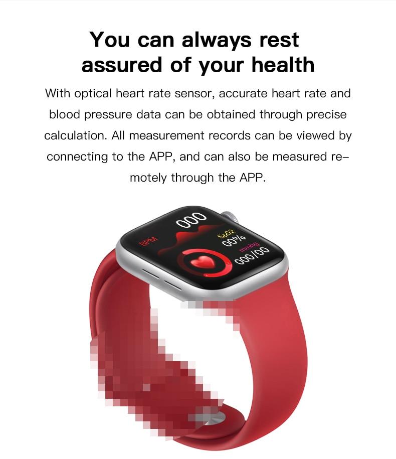 Full Touch Bluetooth Call Smart Watch 2020 Men Women For Sport Smartwatch Ip67 Waterproof Fitness Tracker Watch PK Iwo 8 10 12