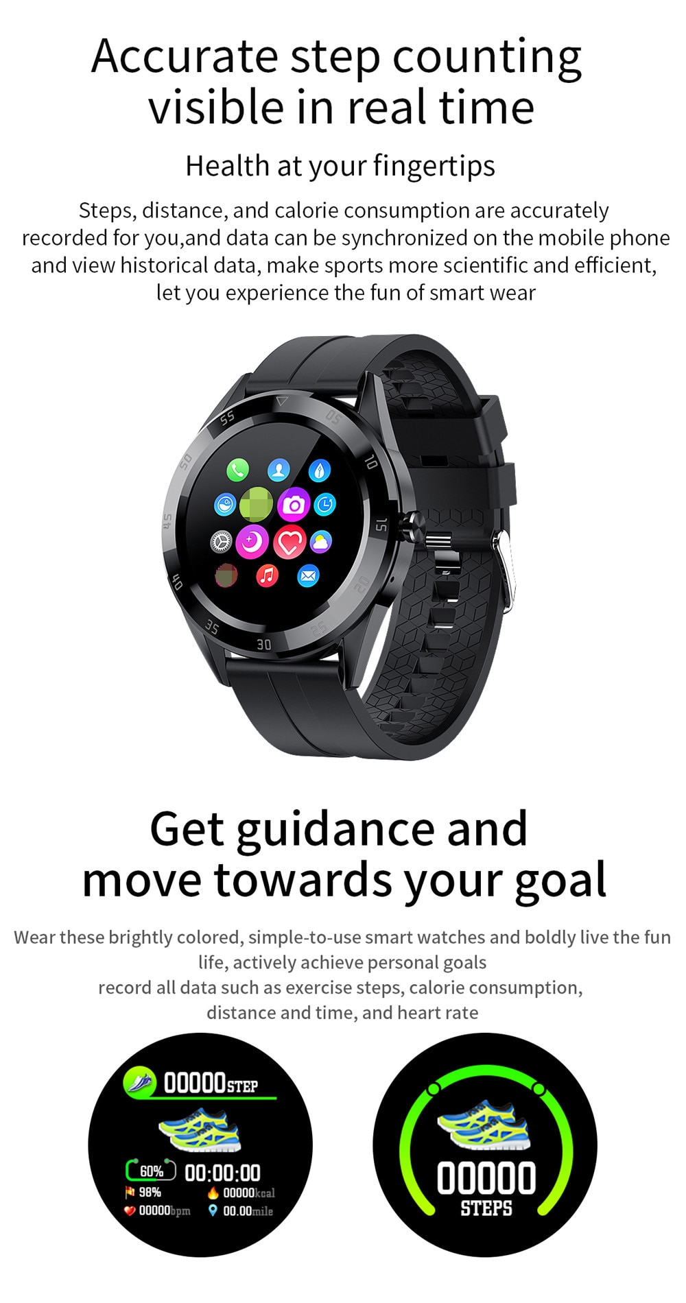 2020 Sport Smart Watch Men Women Bluetooth Call Custom Dial Smartwatch Blood Pressure Heart Rate Monitor Watches For Android IOS