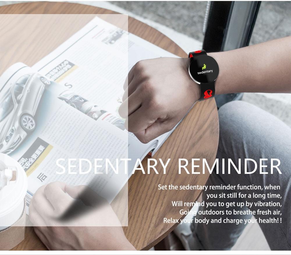 Smart Watch Men Alloy Shell Blood Pressure Waterproof Smartwatch Women Sleep Tracker Heart Rate Monitor Clock For Android IOS