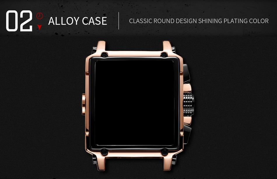 Luxury Brand MEGIR Chronograph Men Watches Leather Business Quartz Watch Men Fashion Sport Military Wristwatch Relogio Masculino
