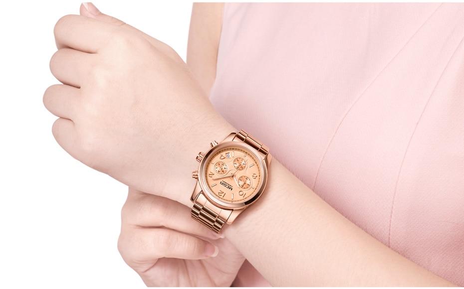 MEGIR Chronograph Women Watches Relogio Feminino Luxury Brand Ladies Sport Wrist Watch Clock Girl Lovers Wristwatches Hour xfcs