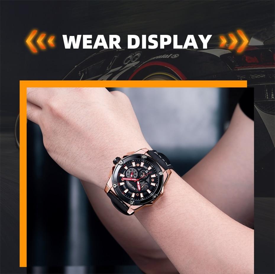 Original Leather Men's Watches