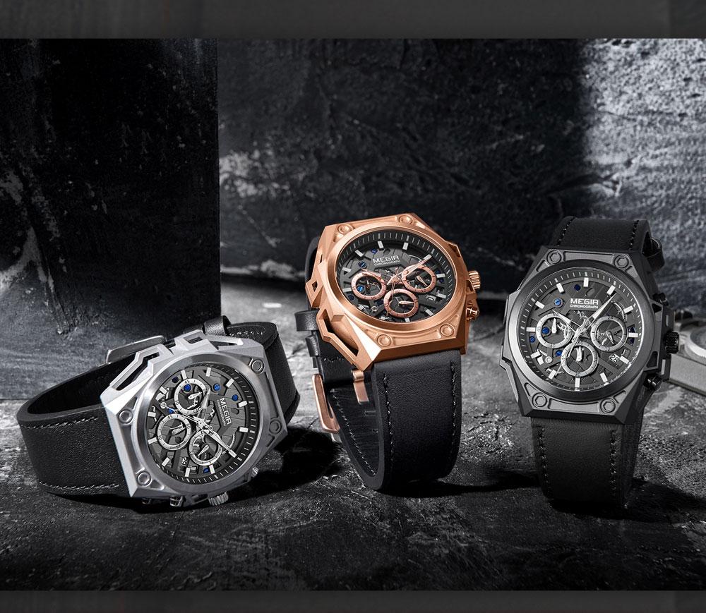 stainless Steel Watch Waterproof