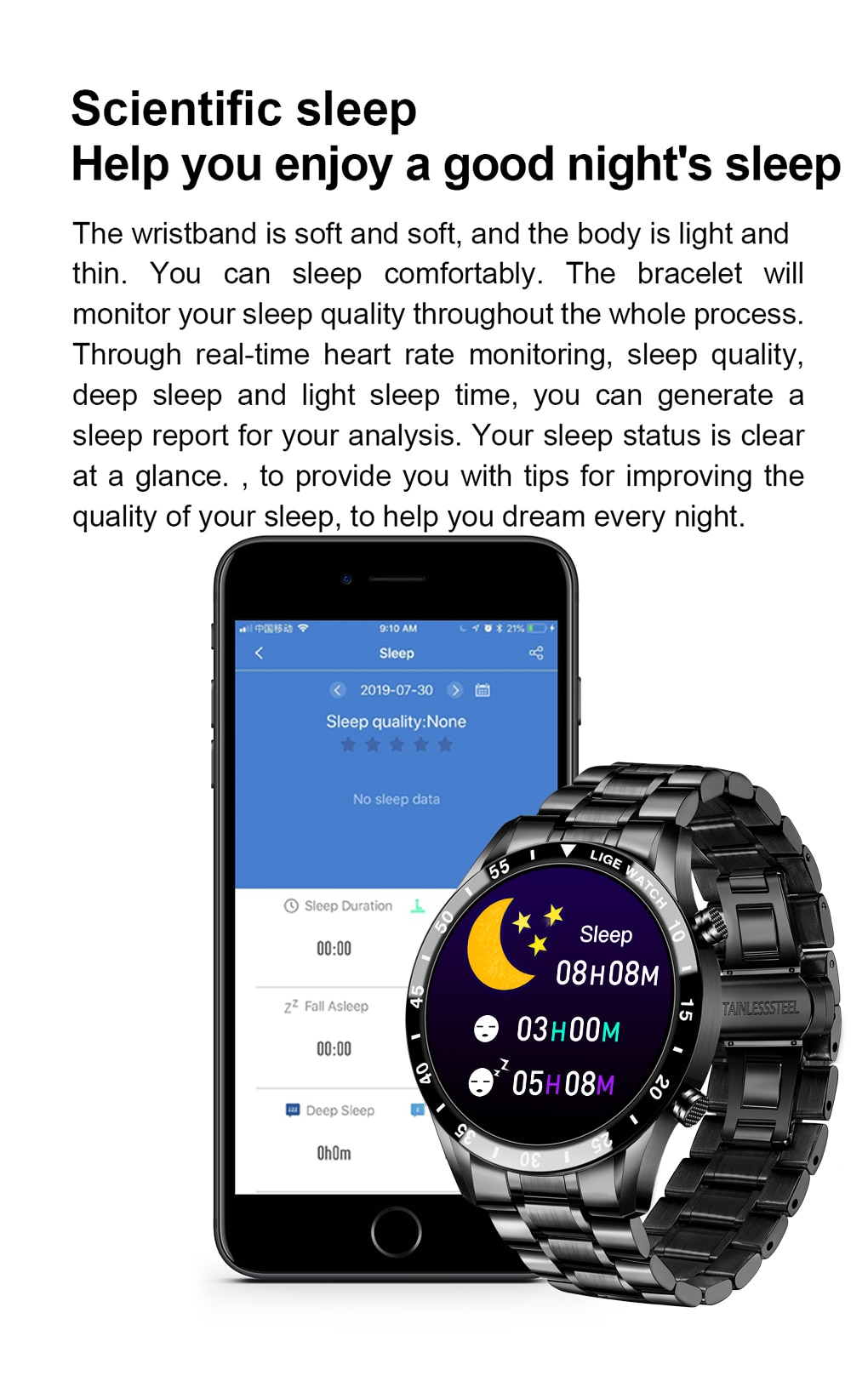 New Business Smart Watch