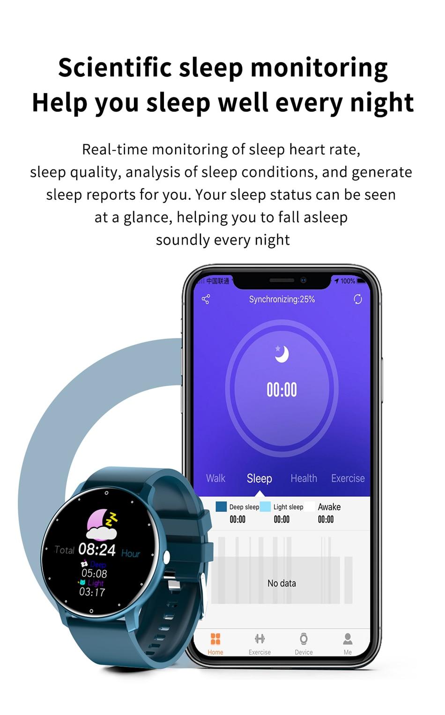 New Smart Watch Men Full Touch Screen